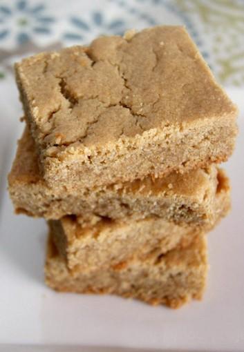 Rich Peanut Butter Bars