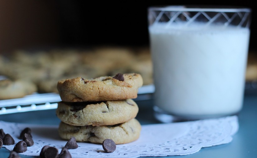 Chocolate Chip Cookies With Barley Flour
