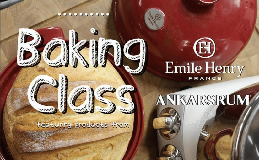 Bread Baking with Emile Henry and Ankarsrum